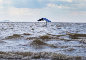 افزایش یک متری  ترازآب دریاچه ارومیه