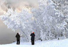 سراب سردترین شهر کشور شد؛ ۲۵ درجه زیر صفر