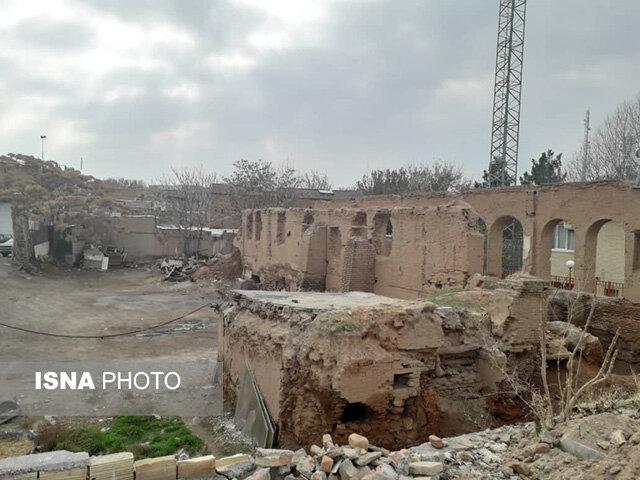 وضعیت اسفبار عمارت قائم مقام