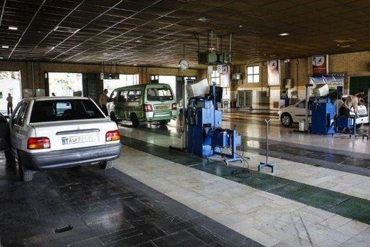 ثبت نام و نوبت دهی اینترنتی معاینه فنی خودرو در تبریز