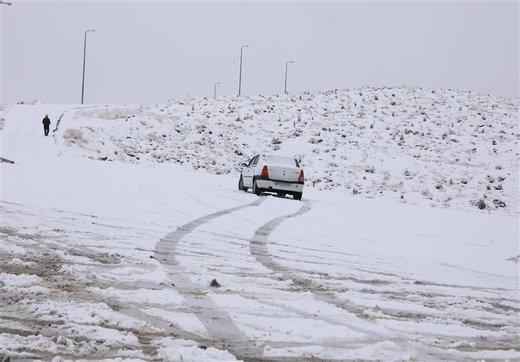 مسدود شدن راه های روستایی چهار شهرستان در آذربایجان شرقی